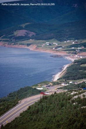 MacKenzie Mountain overlooking Pleasant Bay in the Cape Breton Highlands National Park