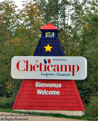 Cheticamp Welcome