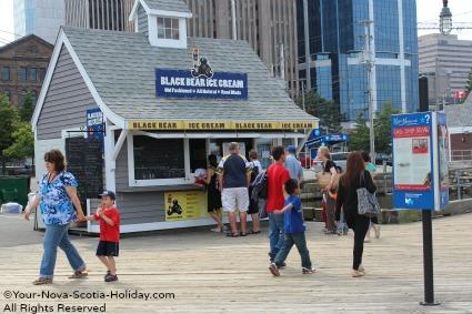 Ice Cream on the Harbour