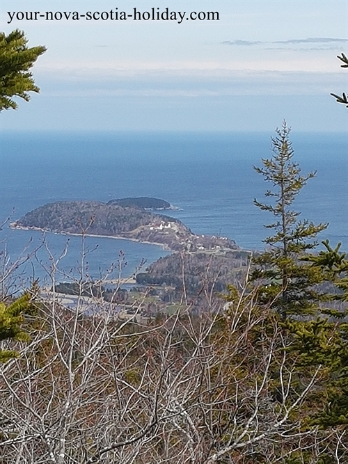 This is one of your views as you make your way up Franey Mountain.  A great hike in the Cape Breton Highlands National park.
