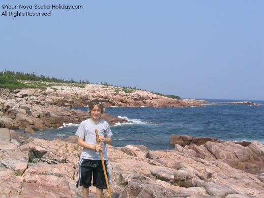 Hiking the Coastal Trail in Cape Breton