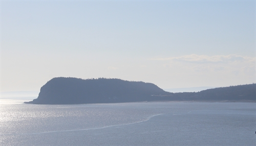 The gorgeous Bay of Fundy at sunset.  This is Cape Sharp taken from Partridge Island.