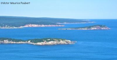 View of the Middle Head peninsula and the Ingonish coastline