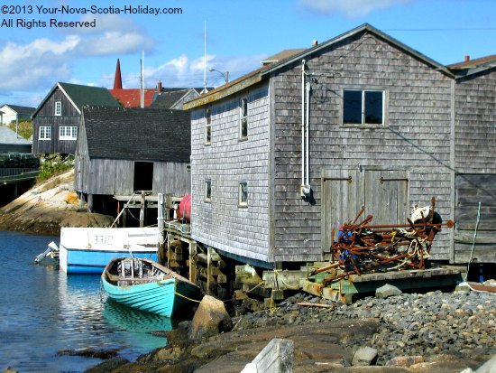 The Village of Peggy's Cove