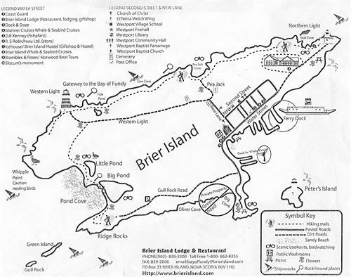 Brier Island Is A Little Piece Of Paradise On The Bay Of
