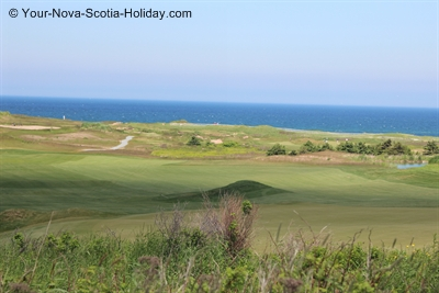 Cabot Links Golf Course in Cape Breton, Nova Scotia