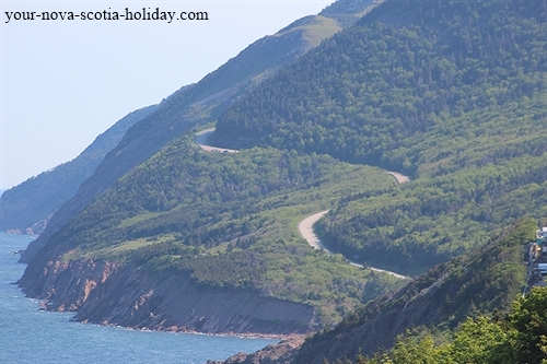 Climbing to the top of French Mountain on the Cabot Trail is one of the best drives you'll ever experience.