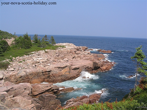 This is the beautiful coastline near the Ingonish area on Cape Breton Island.