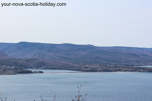 Another view once you arrive at Stanley Point on the Cape Smokey trail. Cape Breton Highlands & Ingonish Beach.