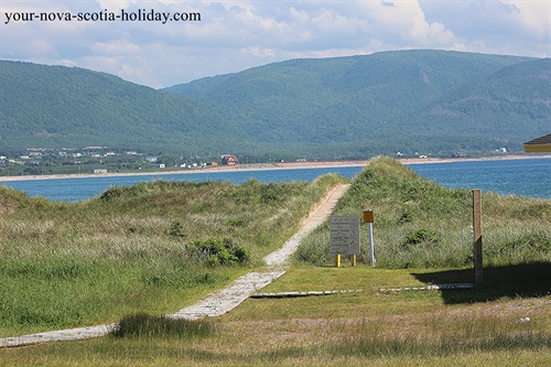 Plage Saint-Pierre on Cheticamp Island on the Cabot Trail in Cape Breton.