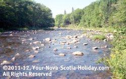 Clyburn River in Cape Breton, Nova Scotia