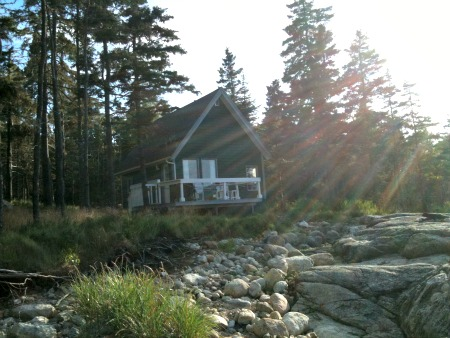 A vacation cottage near Mahone Bay