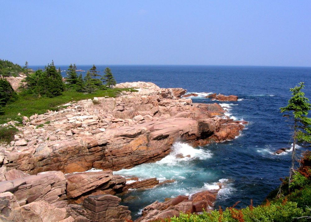 The coastline near Ingonish in the Cape Breton Highlands National Park and on the Cabot Trail.