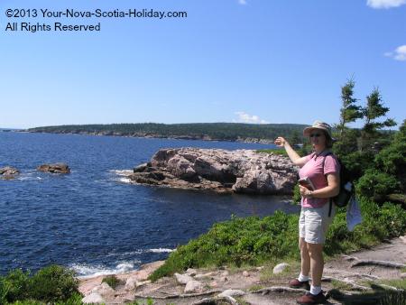 Hiking the Coastal Trail