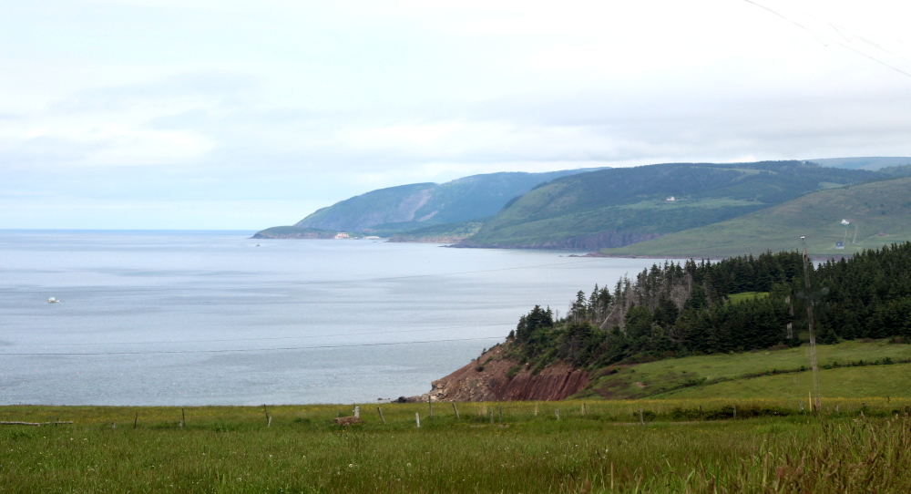 Colindale Road leads to West Mabou Provincial Park & Beach.