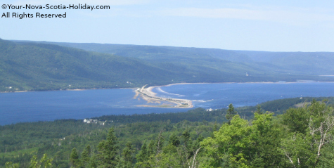 Englishtown Ferry in St. Ann's Bay, Cape Breton