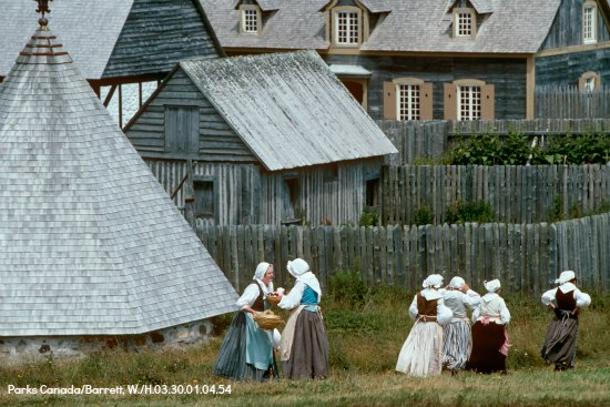 1744 Life at the Fortress of Louisbourg
