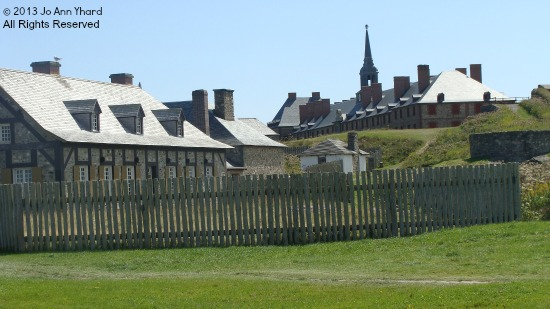 View of the Fortress of Louisbourg