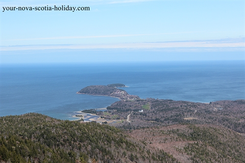 An awesome view of Middlehead from Franey Mountain.  This is on the Cabot Trail in the Cape Breton Highlands National Park.
