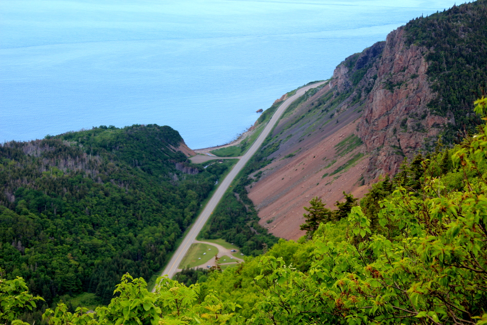 An awesome view of the Grande Falaise along the Cabot Trail.  This picture was taken along the Acadian hiking trail in the Cape Breton Highlands National Park.