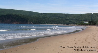 Ingonish Beach Cabot Trail Nova Scotia