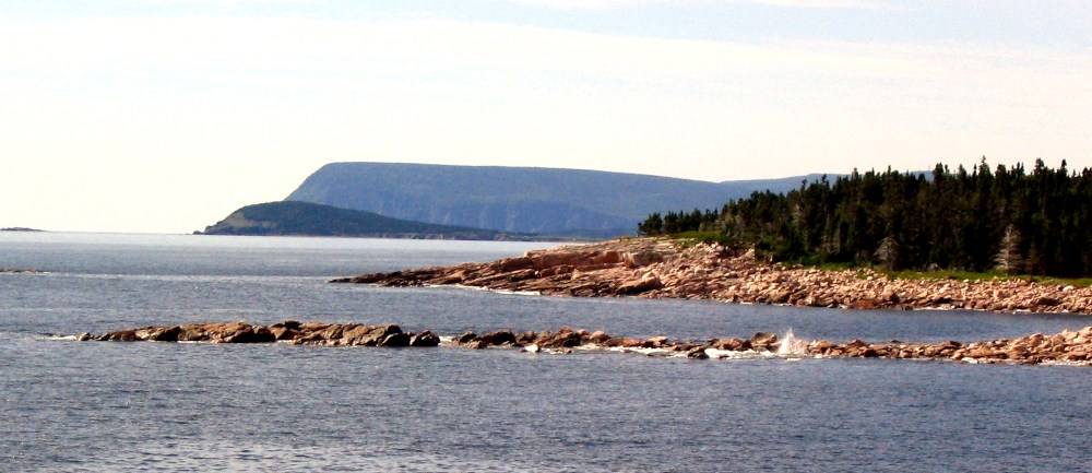 A view of the coast from one of the many scenic look-offs along the Cabot Trail in northern Cape Breton.