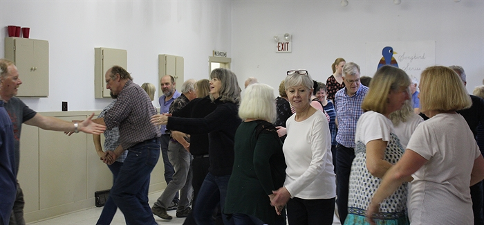 Learning how to square dance