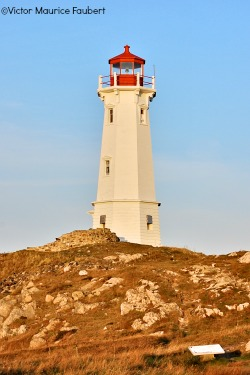 The Lighthouse in Louisbourg, Cape Breton, Nova Scotia