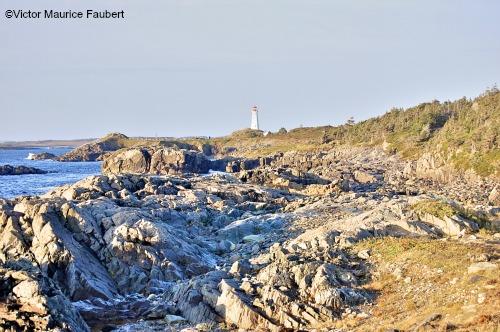 Hiking along the Louisbourg coast