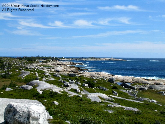 A view of Peggy's Cove