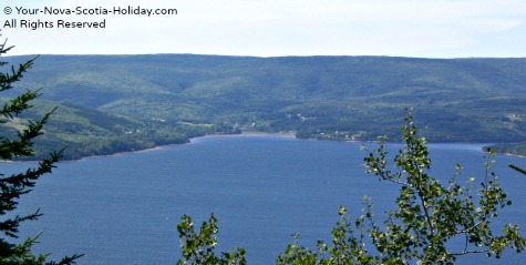 A View of St. Ann's Bay, Cape Breton