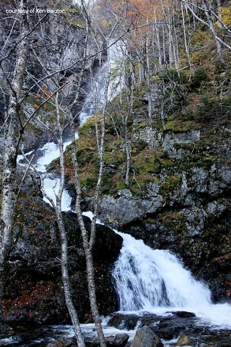 Usige Ban Falls, Cape Breton Island, Nova Scotia
