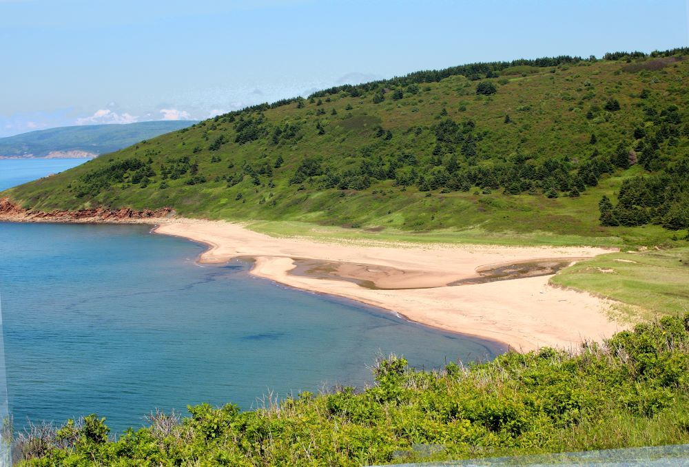 MacLeod's Beach at Dunvegan along the Ceilidh Trail in Cape Breton.