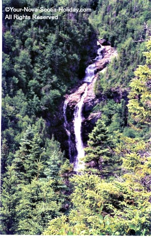 North Rivers Falls in the Cape Breton Highlands
