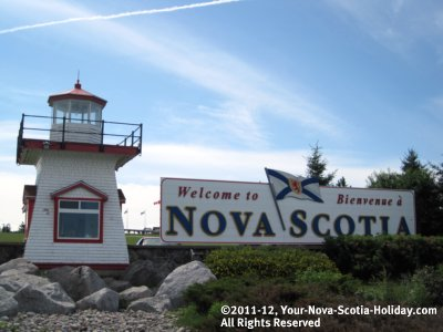 Visitor Information Centre in Amherst, Nova Scotia