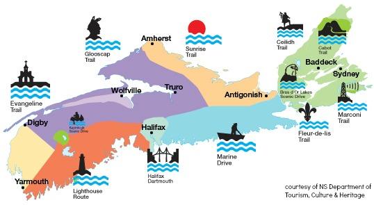 Nova Scotia Scenic Travelways