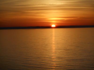 sunset Creignish my 66th birthday present
