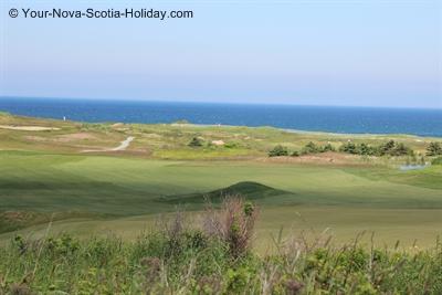 Cabot Links Golf Course in Cape Breton, Nova Scotia