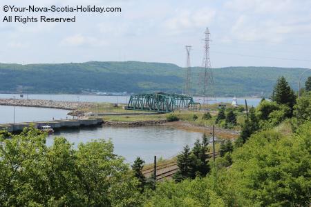 The Canso Causeway in Cape Breton, Nova Scotia