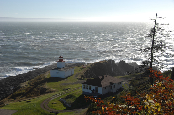 Fabulous view of Cape d'Or with the Bay of Fundy in the background. One of the most photographed spots in Nova Scotia.