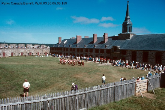 Celebrating the Feast of St. Louis at the Fortress of Louisbourg
