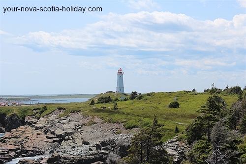 You'll get fantastic views of the lighthouse on this trail.  Look behind you about 30 minutes into your hike and you'll see this.