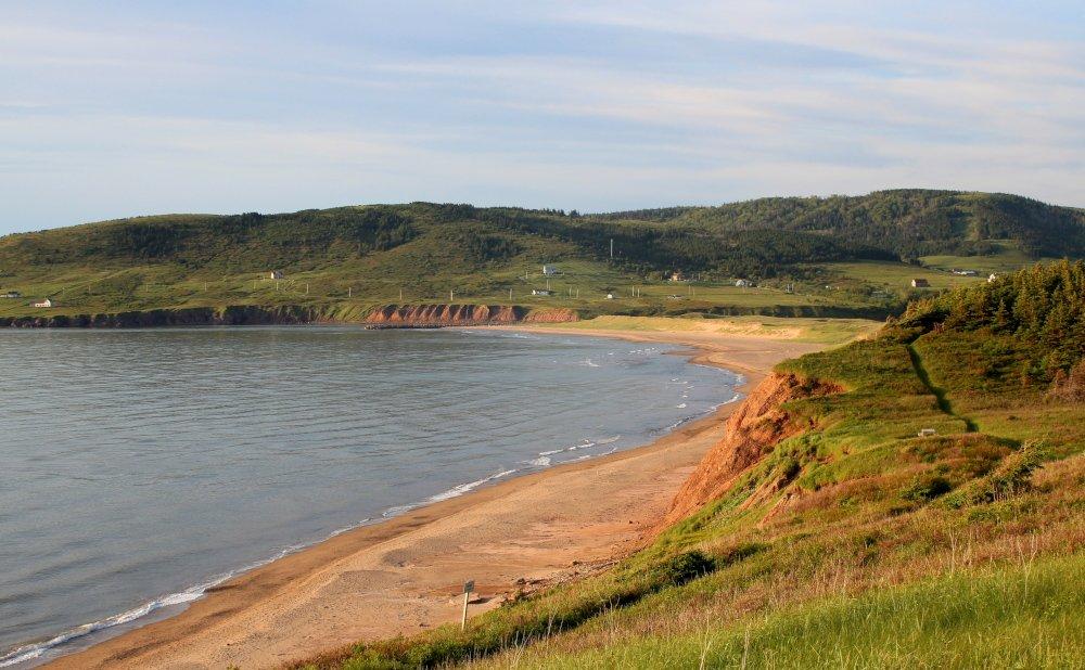 Gorgeous West Mabou beach along the Ceilidh Trail.