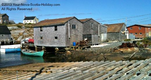 Nova Scotia Coastal Village of Peggy's Cove