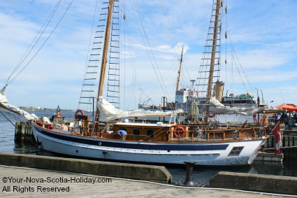 Take a cruise on Tall Ship, The Mar, in Halifax