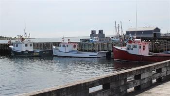 Louisbourg Fishing Boats