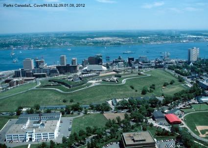 Ariel View of the Halifax Citadel