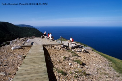 Skyline Hiking Trail on Cabot Trail
