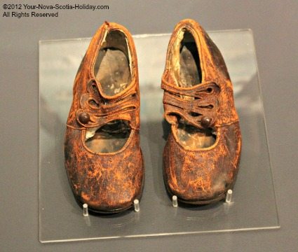 Titanic Unknown Child's Shoes